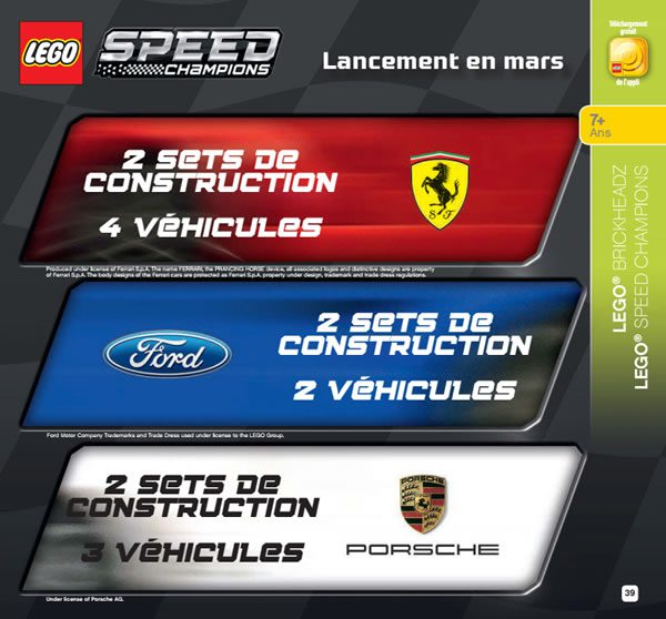 May The 4th Be With You Lego 2018: LEGO Speed Champions 2018 : Liste Et Descriptifs Officiels