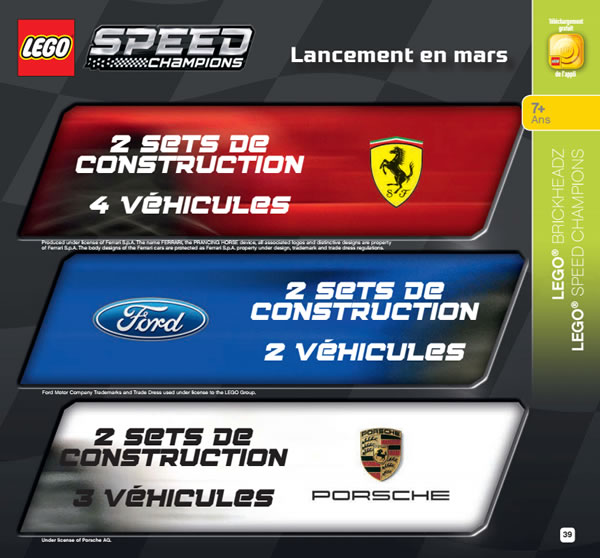lego speed champions 2018 liste et descriptifs officiels des sets pr vus hoth bricks. Black Bedroom Furniture Sets. Home Design Ideas