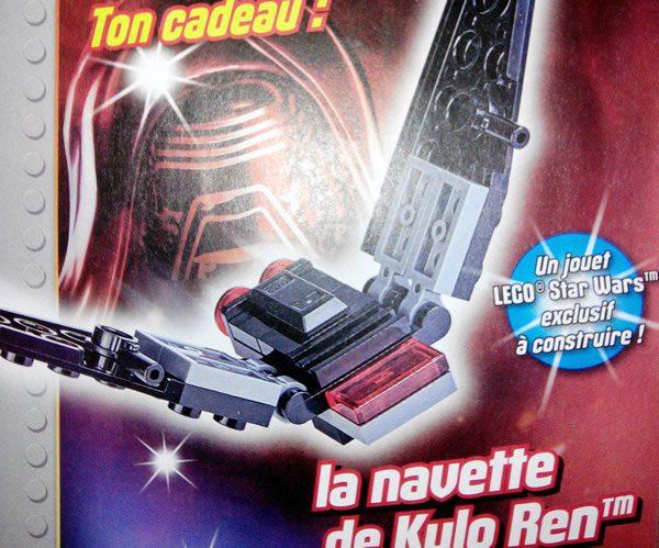 LEGO Star Wars Magazine : Kylo Ren's Shuttle avec le numéro de janvier 2018