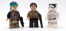75184 LEGO Star Wars Advent Calendar 2017 : le point sur les minifigs