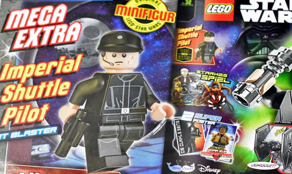 LEGO Star Wars Magazine : Imperial Shuttle Pilot en février 2018