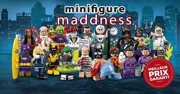 Chez minifigure Maddness : Série 2 The LEGO Batman Movie en précommande