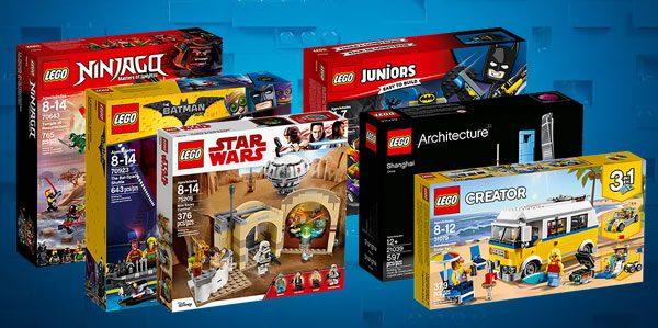 Sur le Shop LEGO : Nouvelle vague de nouveautés 2018 en stock