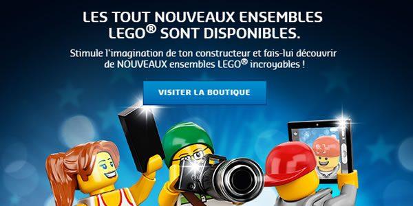 Sur le Shop LEGO : les nouveautés City, Technic, Friends et Disney sont disponibles