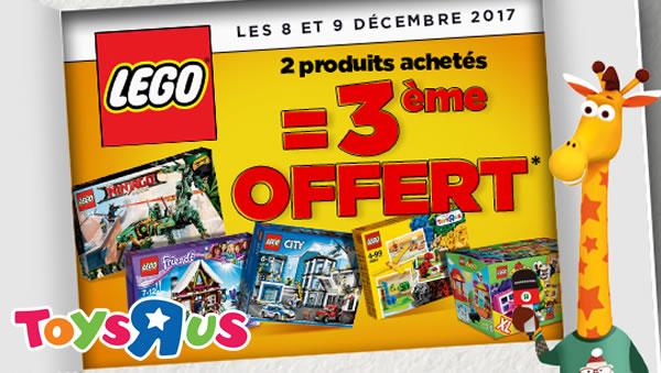 Lego Toys R Us Coupon 2017 Printable : Chez toys r us produits lego achetés le ème offert