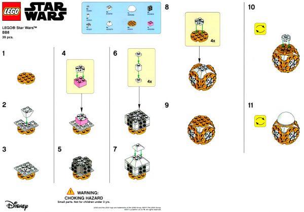 lego advent calendar 2017 star wars instructions