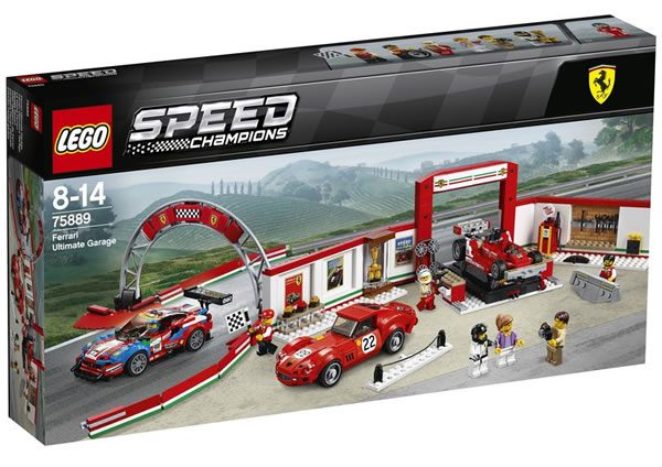 75889 Ferrari Ultimate Garage