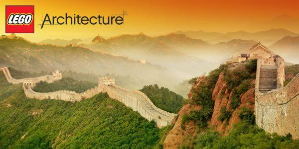Nouveautés LEGO Architecture 2018 : Muraille de Chine et Statue de la Liberté
