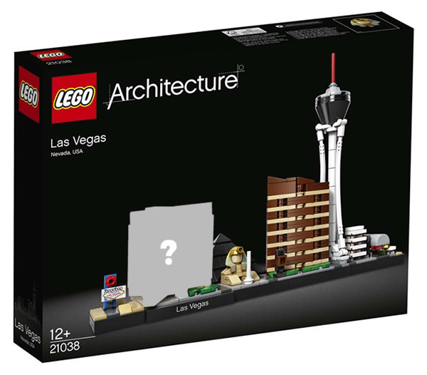May The 4th Be With You Lego 2018: LEGO Architecture 21038 Las Vegas : Pas Avant Septembre