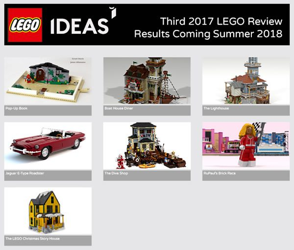 LEGO Ideas Third 2017 LEGO Review