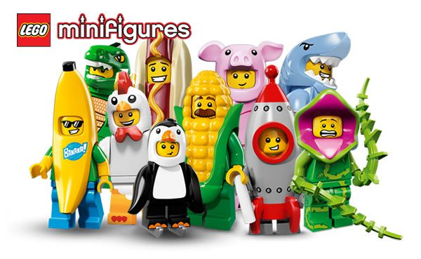 71021 Collectible Minifigures Series 18 : la liste des 17 personnages