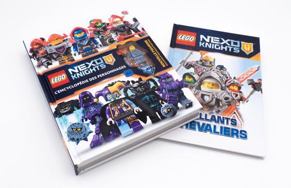LEGO Nexo Knights : L'encyclopédie des personnages