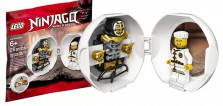 Nouveau Pod LEGO Ninjago : Zane en version Spinjitzu Training (Wu-Cru)