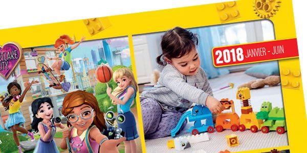 Le catalogue officiel LEGO du premier semestre 2018 est en ligne