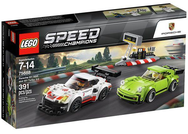 75888 Porsche 911 RSR & 911 TURBO 3.0