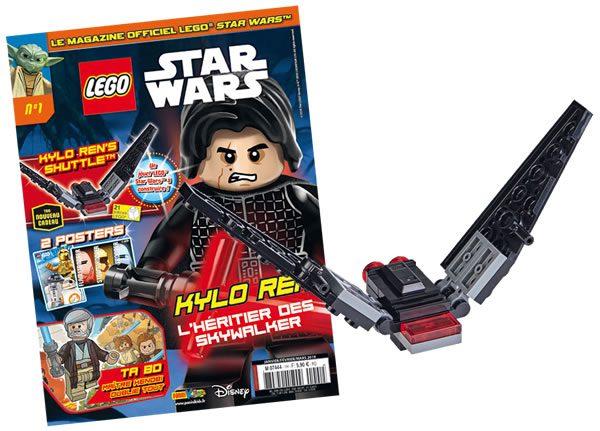 Magazines LEGO Star Wars : deux nouveaux titres prévus pour 2018