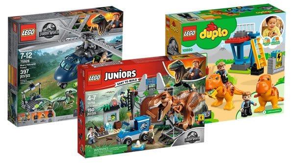 Nouveautés LEGO Jurassic World Fallen Kingdom : premiers visuels officiels