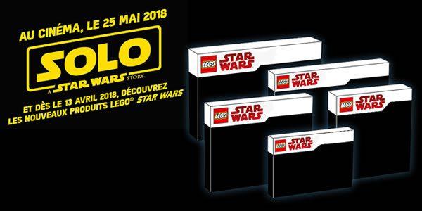 Nouveautés Solo : A Star Wars Story - la liste des sets prévus