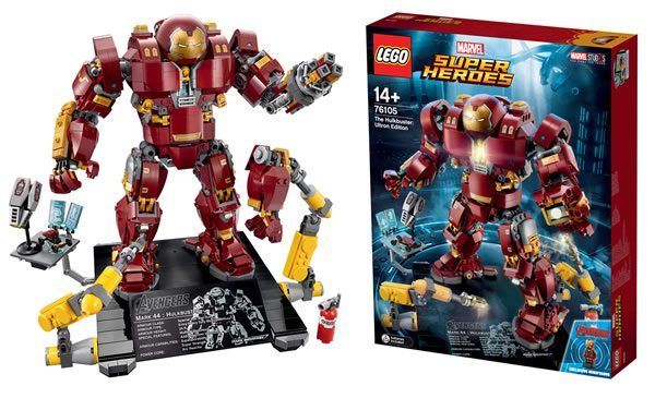 bient t disponible 76105 lego marvel the hulkbuster ultron edition hoth bricks. Black Bedroom Furniture Sets. Home Design Ideas