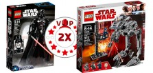Sur le Shop LEGO : points VIP doublés sur deux sets Star Wars