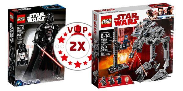 Sur le Shop LEGO : points VIP doublés sur deux sets Star Wars