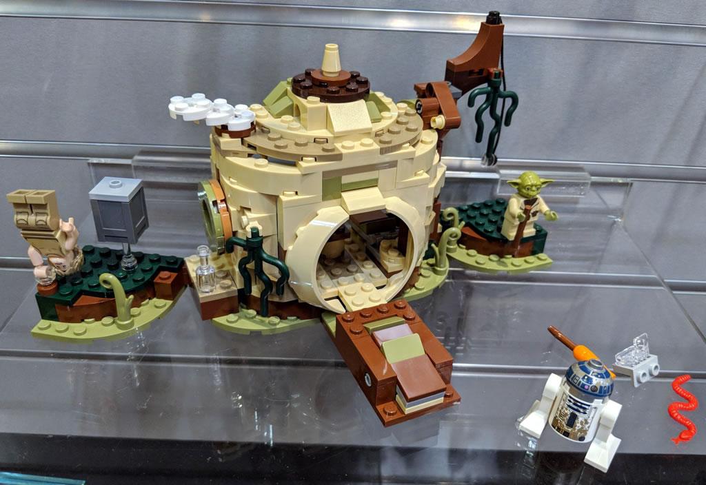 new york toy fair 2018 quelques photos des nouveaut s lego star wars hoth bricks. Black Bedroom Furniture Sets. Home Design Ideas
