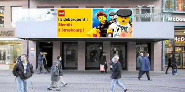 Strasbourg : Les fans font du lobbying pour l'installation d'un LEGO Store