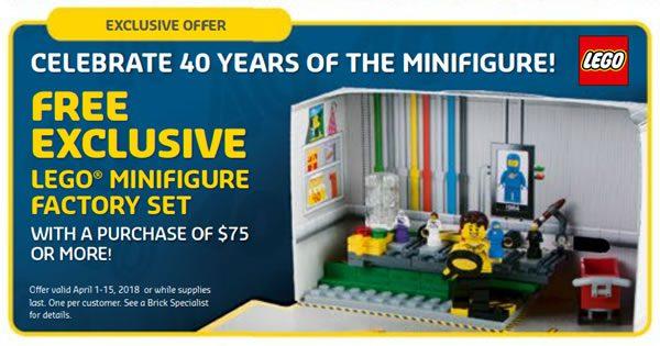 5005358 LEGO Minifigure Factory Set