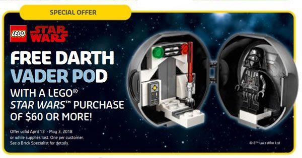5005376 LEGO Star Wars Darth Vader Pod