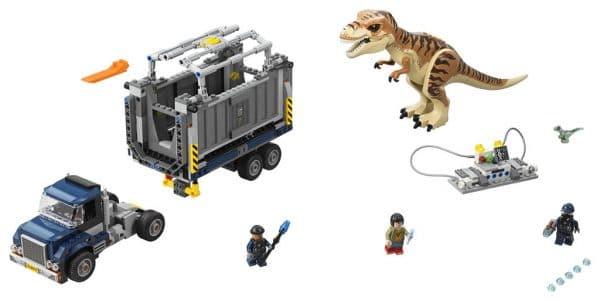 LEGO Jurassic World 75933 T.rex Transport