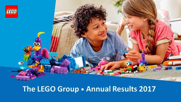 Conférence de presse : LEGO dévoile ses chiffres pour 2017