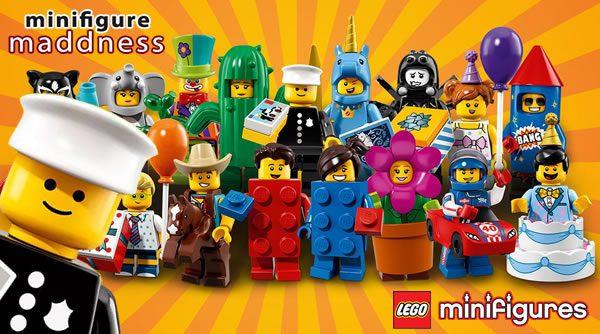 Chez Minifigure Maddness : Série 18 de minifigs LEGO en précommande (incl. Classic Policeman)