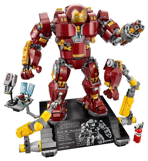 76105 The Hulkbuster : Ultron Edition