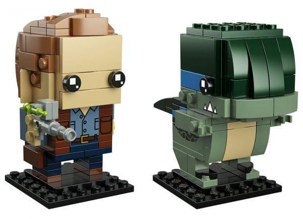 LEGO BrickHeadz Jurassic World - 41614 Owen & Blue