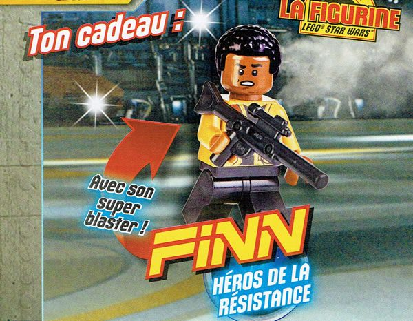 Magazine LEGO Star Wars : Finn (Avril 2018)
