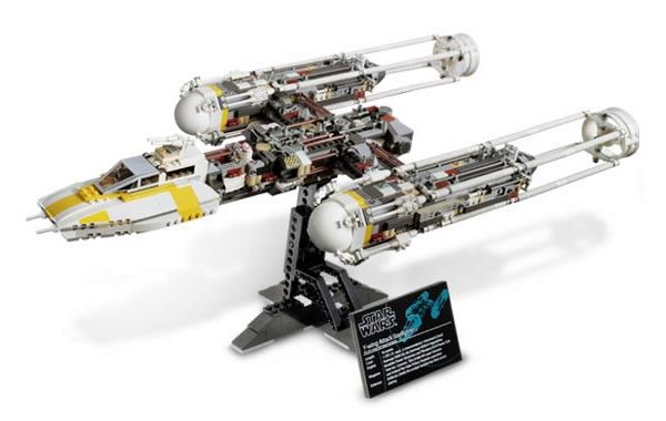 10134 UCS Y-Wing Attack Starfighter (2004)