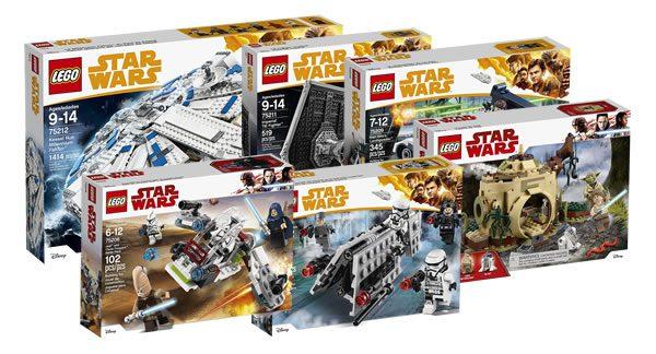 nouveaut s lego star wars 2018 encore des visuels officiels hoth bricks. Black Bedroom Furniture Sets. Home Design Ideas