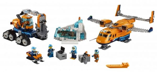 LEGO City 60196 Arctic Supply Aircraft