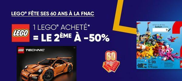 Le 2ème set à -50% Sur FNAC.com : L'offre est étendue à plus de références
