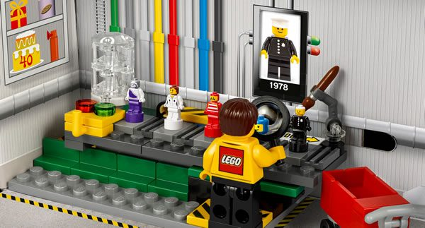 Sur le Shop LEGO : 5005358 Minifigure Factory offert dès 55 € d'achat
