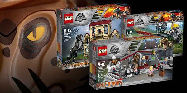 Shop LEGO : Les nouveautés LEGO Jurassic World sont disponibles