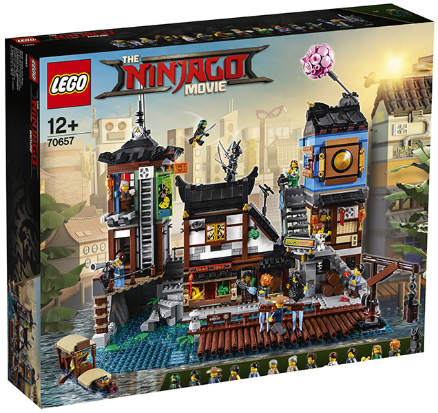 May The 4th Be With You Lego 2018: LEGO Ninjago 70657 City Docks : Premier Visuel Officiel