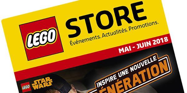 En mai et juin 2018 chez LEGO : La liste des offres prévues