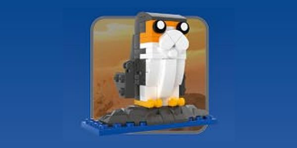 LEGO Porg - may the 4th be with you