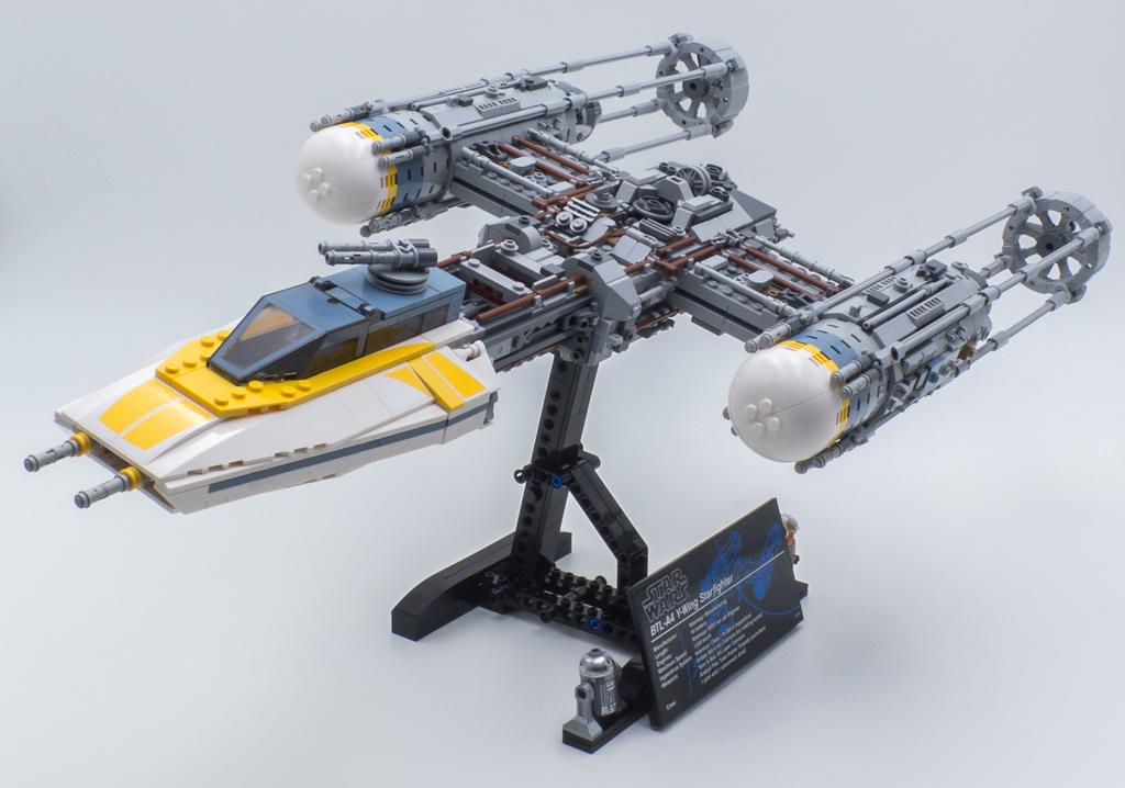 ▷ J'ai testé pour vous : LEGO Star Wars 75181 UCS Y-Wing ...