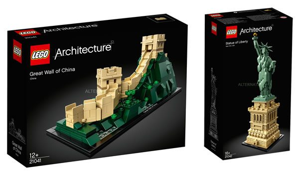 Nouveautés LEGO Architecture 2018 : les visuels sont disponibles