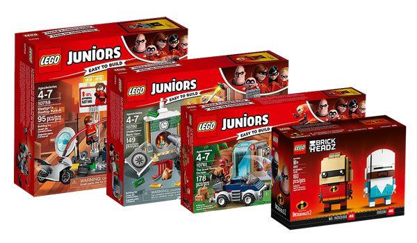 Sur le Shop LEGO : Les nouveautés LEGO The Incredibles 2 sont disponibles