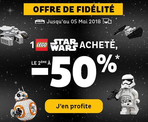 Chez Toys R Us : le 2ème set LEGO Star Wars à -50%