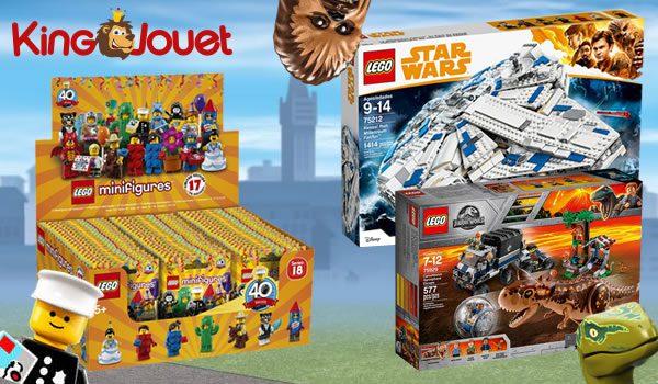 Concours : des boites LEGO à gagner avec King Jouet !
