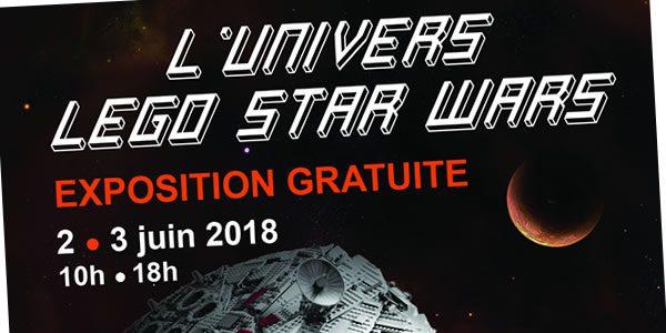 expo lego star wars juin 2018